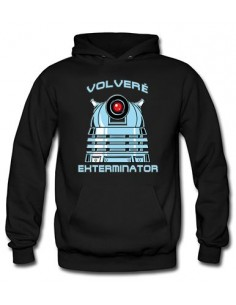 Sudadera Doctor Who Dalek exterminator - Mx Games