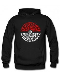 Sudadera Pokemon Pokeball-Pokemons - Mx Games