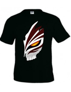 Camiseta Bleach máscara Ichigo manga corta - Mx Games
