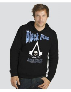 Sudadera Assassin creed black flag, diseño blue | Mx Games