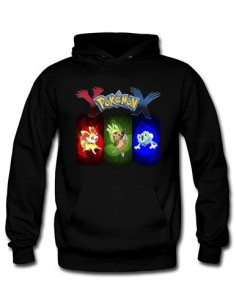 Sudadera Pokemon X - Y con diseño colors - Mx Games