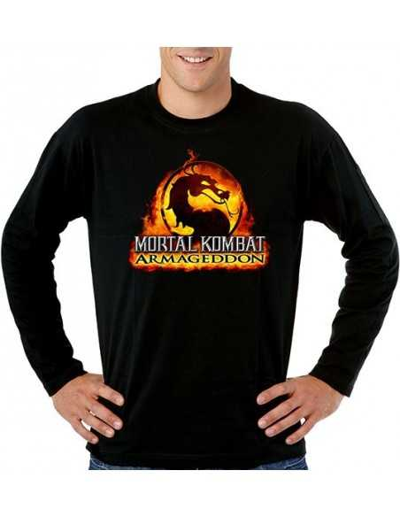 Camiseta Mortal Kombat armagedon manga larga - Mx Games