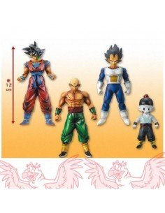 Pack 4 figuras Dragon Ball Z Ten Shin han