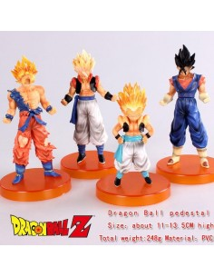Pack 4 figuras Dragon Ball Z - Fusiones