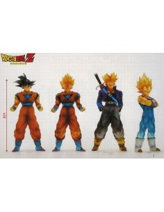 Pack 4 figuras Dragon Ball Z - Makai