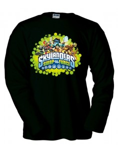 Camiseta Skylanders Swap Force - Diseño Green