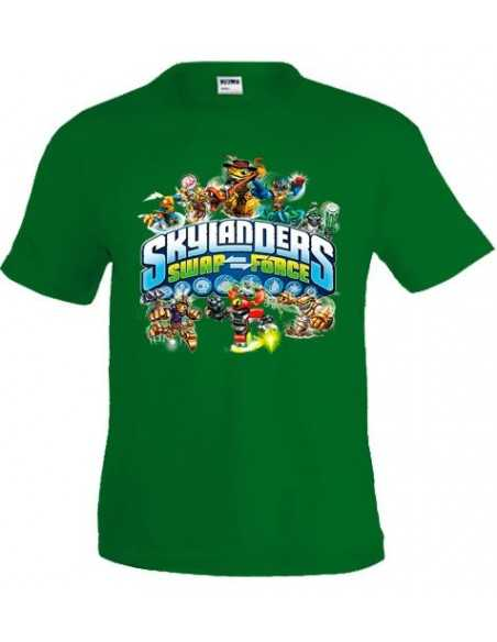 Camiseta Skylanders Swap Force - Diseño swap