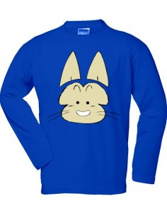 Camiseta Dragon Ball Z Gato Puar - manga larga