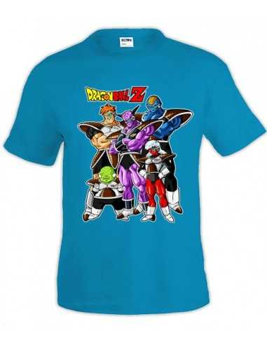 Camiseta Dragon Ball Z - FUERZAS ESPECIALES a074ac7796750