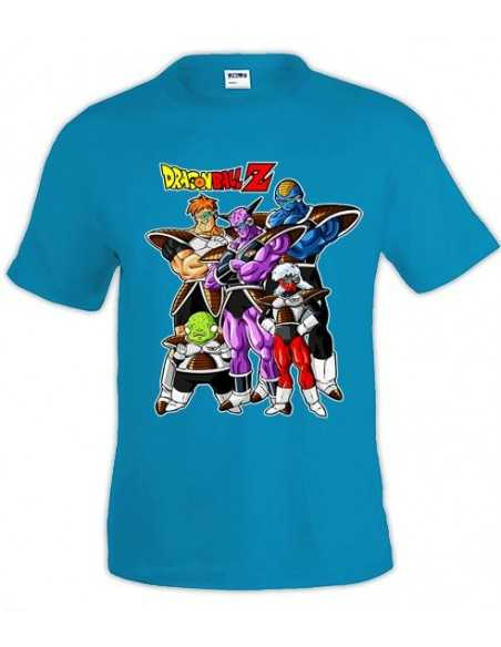 Camiseta Dragon Ball Z de manga corta - FUERZAS ESPECIALES