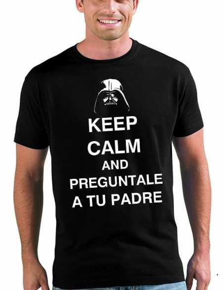 Camiseta día del padre - Keep Calm