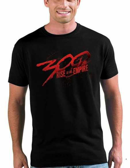 Camiseta 300 logo rise of an empire - Mxgames