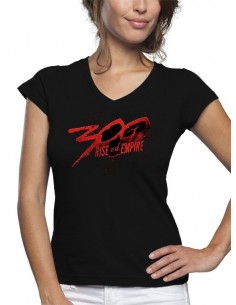 Camiseta 300 logo rise of an empire de mujer -mxgames.es