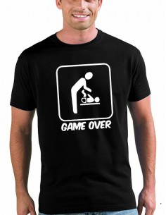 Camiseta día del padre diseño Game Over -Mx Games