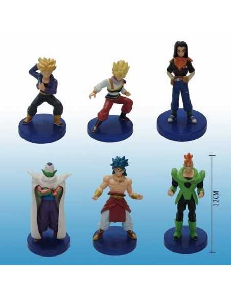 Figuras dragon ball 6 pcs pedestal azul - Gashapon mx games.es