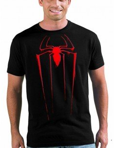 Camiseta spiderman logo 2014 custom - Mx Games