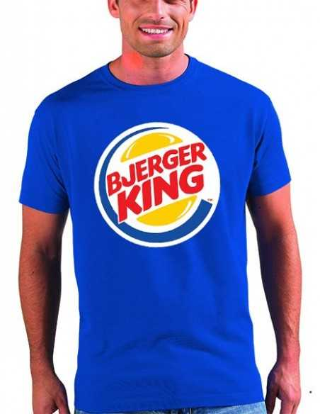 Camiseta League of legends Bjerger King de color azul unisex