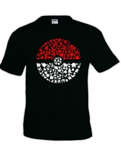 Camiseta Pokemon Pokeball-Pokemons