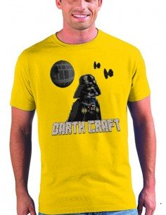 Camiseta DarthCraft-minecraft unisex varios colores