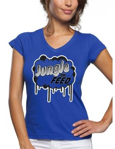 "Camiseta League of legends de mujer ""Jungle or Feed"""