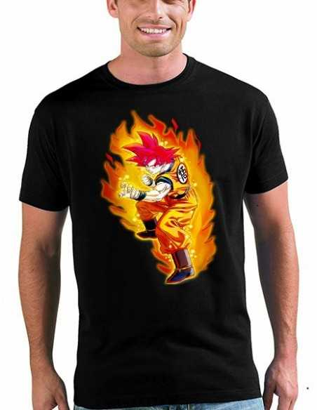 Camiseta Dragon Ball unisex,Goku Dios