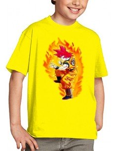 Camiseta Dragon Ball infantil, Goku Dios