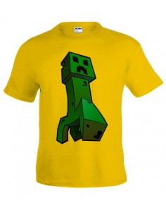 Camiseta Minecraft Art-creeper