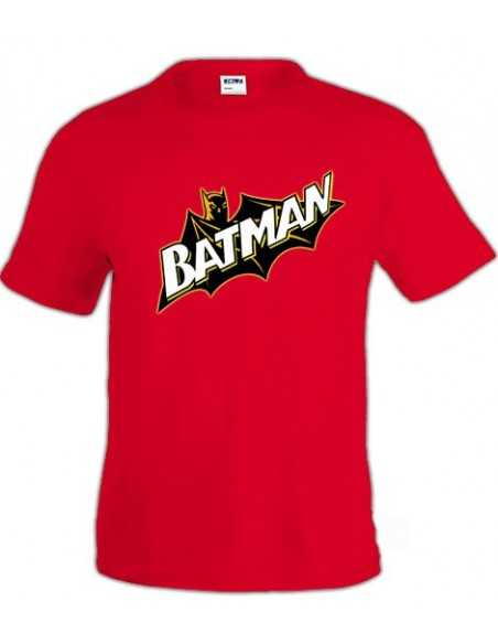 Camiseta Batman Retro cape manga corta