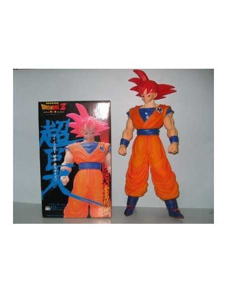 FIGURA SON GOKU DIOS - Dragon Ball 40cm