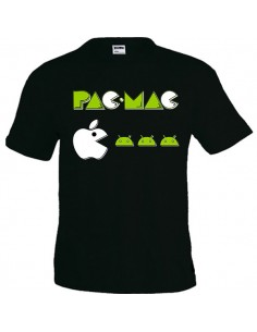 Camiseta divertida Pac Mac