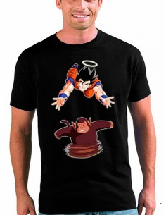 Camiseta Dragon Ball Z Goku Vs Mono Bubbles