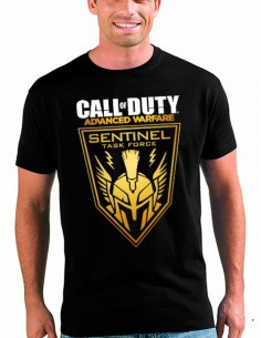 Camiseta Call of Duty Advanced Warfare Sentinel de manga corta