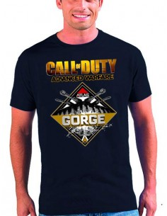 Camiseta Call of Duty Advanced Warfare Forge de manga corta