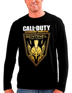 Camiseta Call of Duty Advanced Warfare Sentinel de manga larga