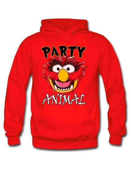 "Sudadera ""Party Animal"" animal The Muppets, con capucha"