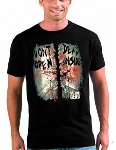 Camiseta Walking Dead, Dont Open Dead Inside