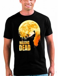 "Camiseta The Walking Dead ""Precipicio"" manga corta"