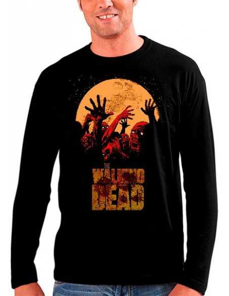 "Camiseta The Walking Dead ""Survival"" manga larga"