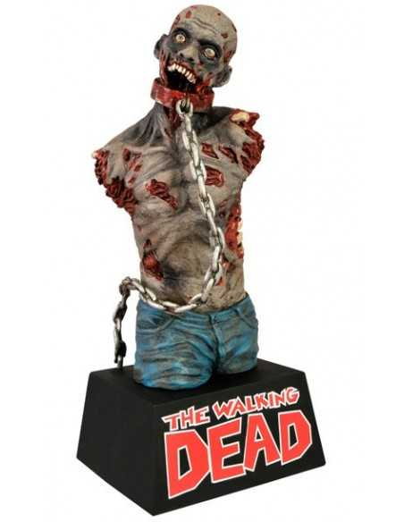 Figura Walking Dead color (Hucha Zombie sin barzos) de 20 cm - Diamond Select