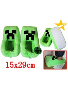 Zapatillas Minecraft Creeper de 29 cm