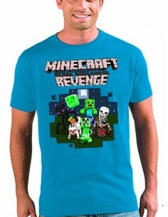 Camiseta Minecraft - Revenge Art