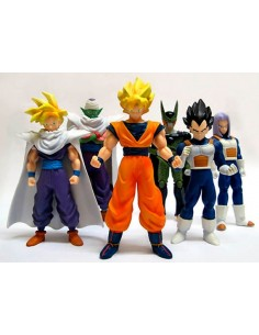 Figuras dragon ball Z pack Celula,Piccolo,Goku,Trunks,Gohan y Vegeta