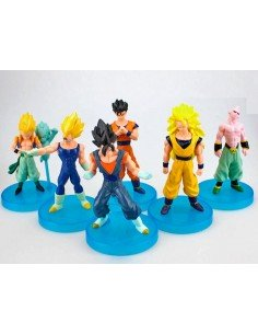 Figuras dragon ball Z pack 7 figuras