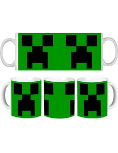 Taza minecraft creeper classic