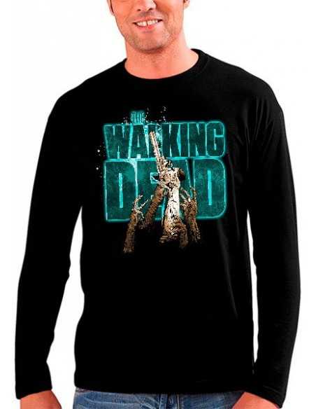Camiseta The Walking dead Last Shot manga larga