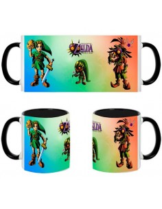 Taza The Legend Of Zelda - Majoras Mask colors