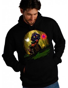 Sudadera The Legend of Zelda: Skull Kid cueva