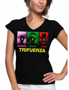 Camiseta The Legend of Zelda Trifuerza art de mujer