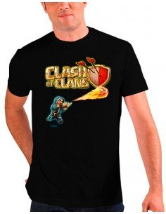 Camiseta Clash of Clans - mago