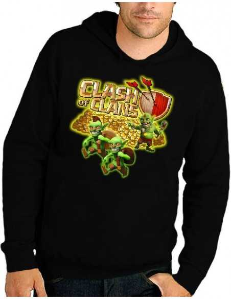 Sudadera Clash of Clans - Duendes